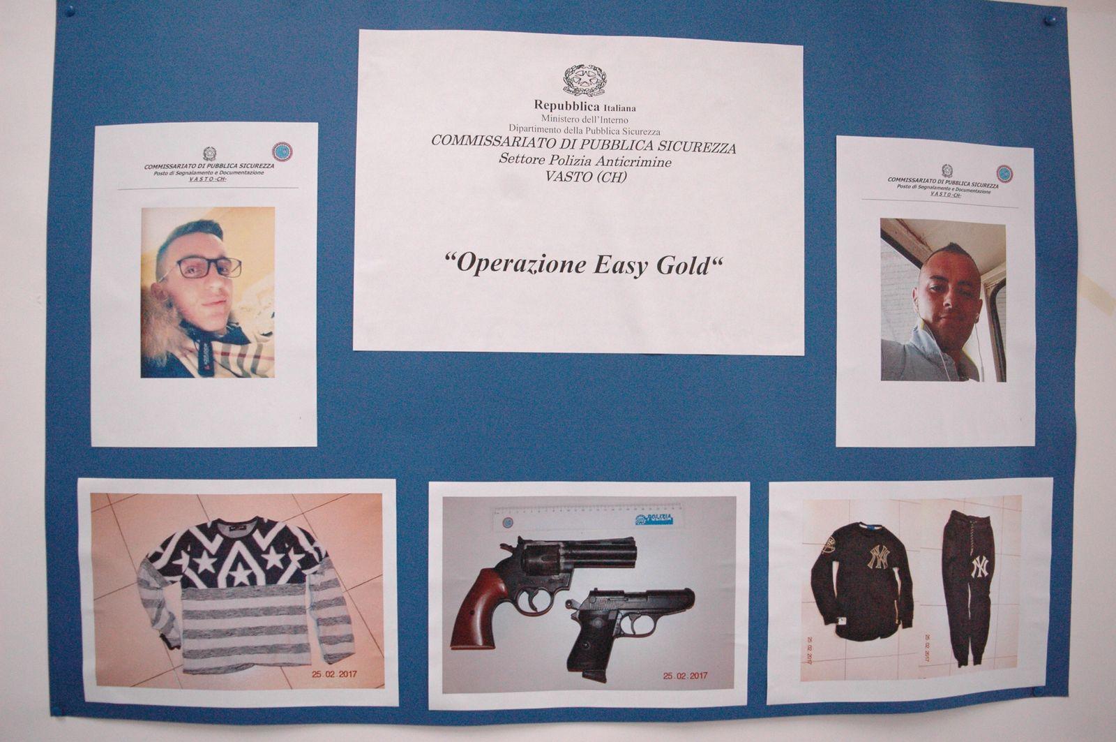 Arrestati i due responsabili della rapina alla gioielleria l'Arte Orafa