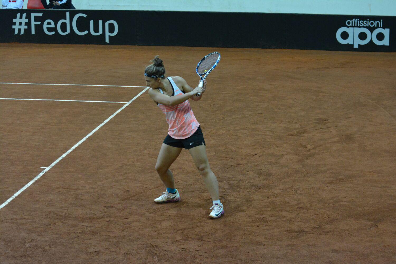 Fed Cup, una grande Deborah Chiesa porta l'Italia ai play off