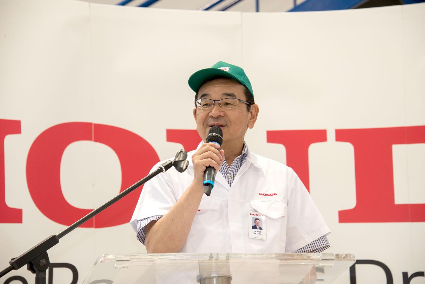 Il Presidente Takahiro Hachigo Alla Honda Italia Notizie