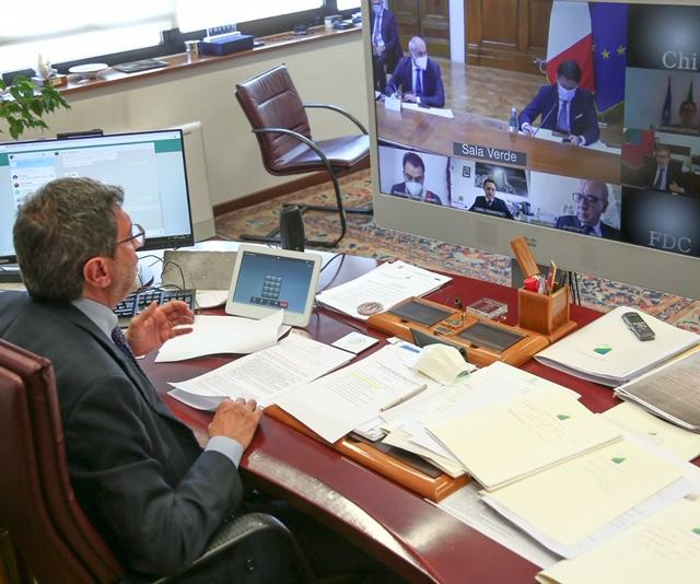 Ricostruzione post sisma L'Aquila 2019, Marsilio in video conferenza con Conte